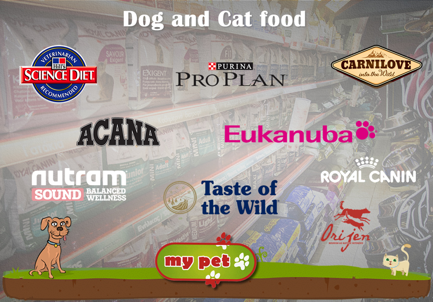 Dog and cat food supplies in Paphos