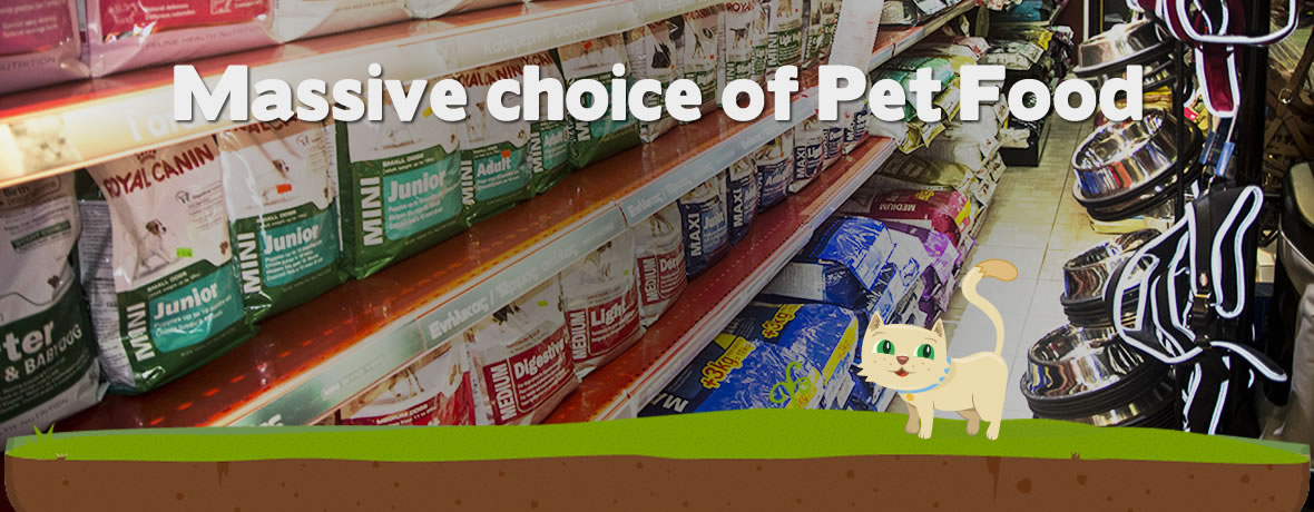 Buy pet food